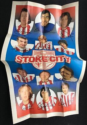 A&BC 1973 Giant Team Posters Stoke City Football Club (Gordon Banks) - Very Good