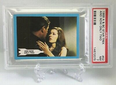 1969 Star Trek AND NOW ONLY TWO #52 NEAR-MINT 7 - A&BC garno PSA