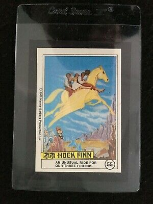 A&BC 1969 Huck Finn Giant Full Colour Jigsaw Card Part Set - See Description