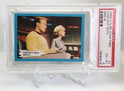 1969 Star Trek CONTACT WITH EXO III #4 EXCELLENT-MINT 6 - A&BC garno PSA
