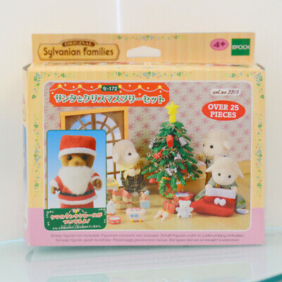Sylvanian Families SANTA AND CHRISTMAS TREE SE-172 2010 Calico Critters Epoch