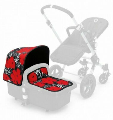 Bugaboo Cameleon 3 Andy Warhol Tailored Fabric Flowers Canopy/Apron 800510AW01