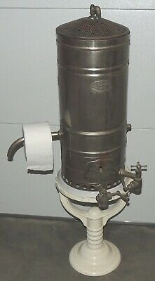 Antique Waste Basket / TP holder made from Humphrey #8 bath hot water heater