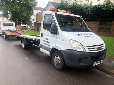2009 IVECO DAILY recovery truck 2 3 twin wheel 5 speed manual gearbox mot  may 20