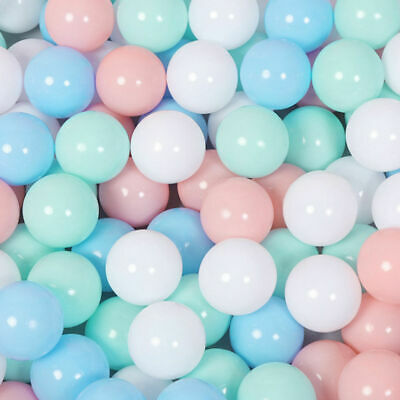 100x Colorful Water Pool Ball Soft Plastic Ocean Ball Baby Kids Swimming Pit Toy
