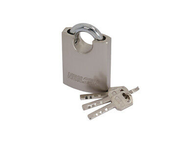 50mm Shed Garage Store Security Stainless Steel Padlock