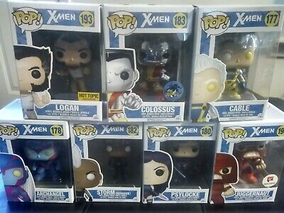Marvel X-Men Funko Pop Lot of  -Commons and Exclusives