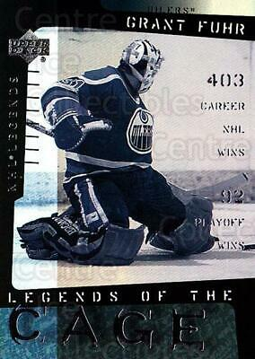 2000-01 Upper Deck Legends of the Cage #6 Grant Fuhr
