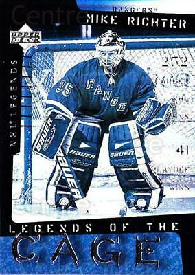 2000-01 Upper Deck Legends of the Cage #7 Mike Richter