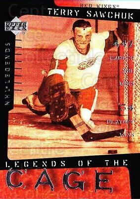 2000-01 Upper Deck Legends of the Cage #9 Terry Sawchuk