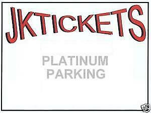 Oakland Raiders at HOUSTON TEXANS PLATINUM PARKING PASS, Space D-14 10/27 Noon