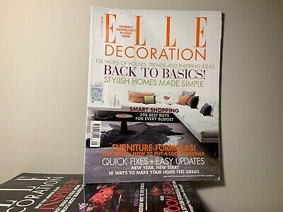 2006 Annual Collection of ELLE DECORATION Magazine | 12 Issue Bundle |
