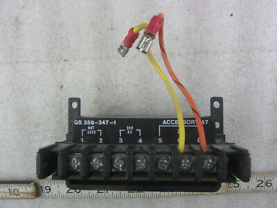 Asco GS359-347-1 24V Lighting Contactor Control Module, Used