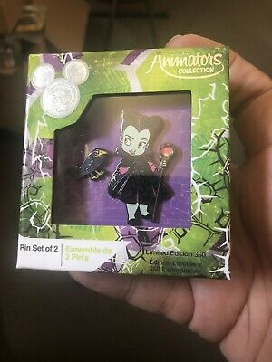 D23 Expo 2019 Disney Store Tiny Animation Collection Maleficent LE 350 Pin