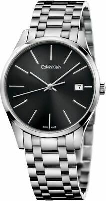 Calvin Klein Men's Time Quartz Watch K4N23141