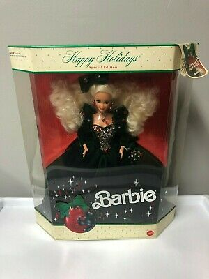 1991 Happy Holidays Special Edition Blonde Barbie Doll No.1871  NRFB