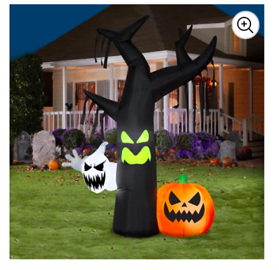 Gemmy 7 ft. Halloween Airblown Inflatable Ghostly Tree Scene