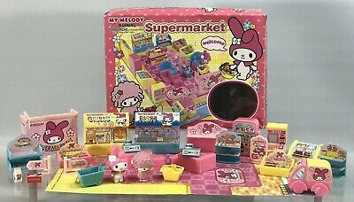 My Melody Supermarket Mini Grocery Store DollHouse Playset My Sweet Piano Sanrio