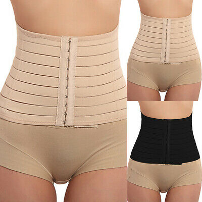 Women's Waist Trainer Body Shaper Tummy Control Girdle Corset Cincher Shapewear