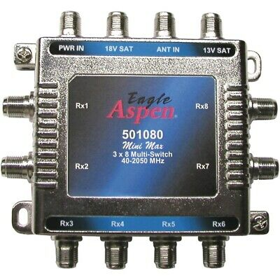 Eagle Aspenr 501080 3-In X 8-Out Multi Switch