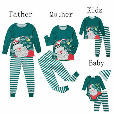 Christmas Family Pyjamas Pj's Sets Kids Boys Girls Mums Dads Grandad Nanna Xmas
