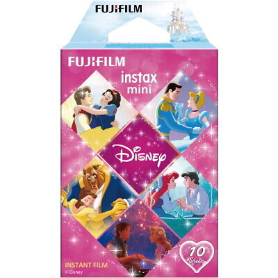2021-01 Fujifilm Instax Disney Princess 10 Sheets For Mini 9 8 7s 70 90 25