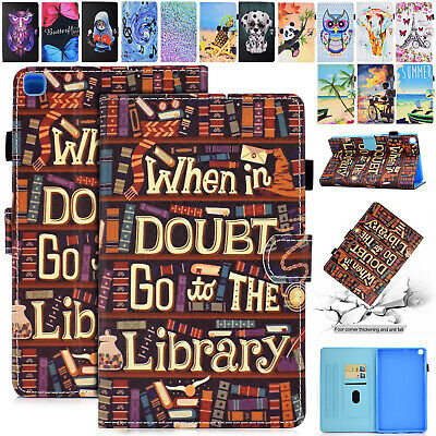 For Samsung Galaxy Tab A 8.0 Inch T290 T295 2019 Case Leather Flip Magnet Cover