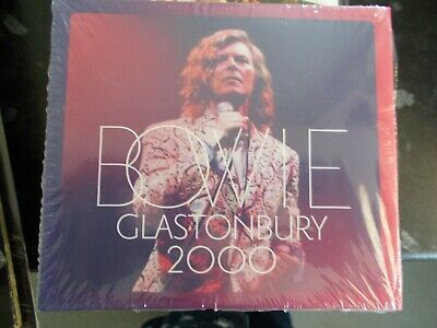 DAVID BOWIE - GLASTONBURY 2000 - 2018 BBC/PARLOPHONE 6-PANEL CARD SLEEVE 2xCD