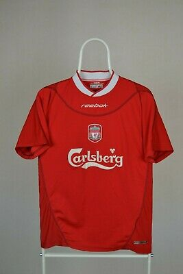Liverpool 2002/2003/2004 Home Football Shirt Reebok Vintage Size S