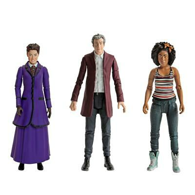 "Doctor Who Collectable Action Figures The 12th Doctor Missy Bill 5.5"" Three Pack"