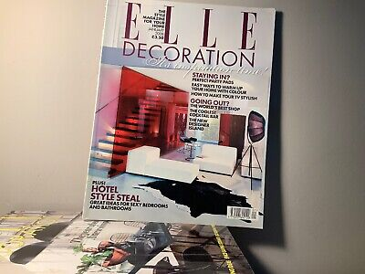 2008 Annual Collection of ELLE DECORATION Magazine | 12 Issue Bundle |