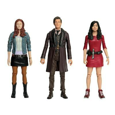"Doctor Who Collectable Action Figures The 11th Doctor Clara Amelia 5.5"" 3pk"