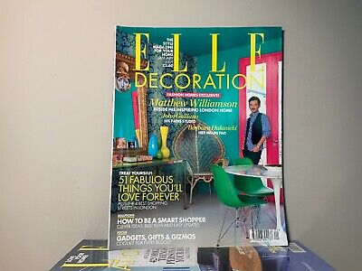 2009 Annual Collection of ELLE DECORATION Magazine | 12 Issue Bundle |
