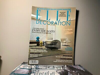 2010 Annual Collection of ELLE DECORATION Magazine | 12 Issue Bundle |