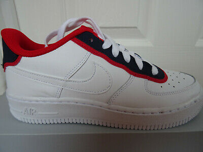 NIKE AIR FORCE 1 LV8 1 DBL (GS) trainers BV1084 101 uk 3.5