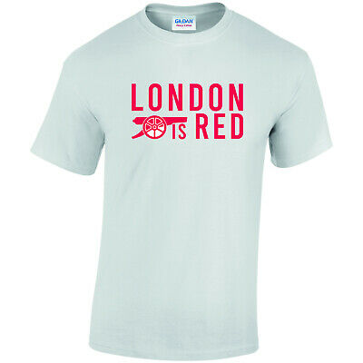 Arsenal FC London is Red Printed T Shirt