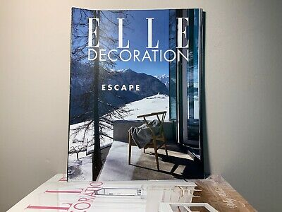2015 Annual Collection of ELLE DECORATION Magazine | 12 Issue Bundle |