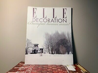 2013 Annual Collection of ELLE DECORATION Magazine | 12 Issue Bundle |