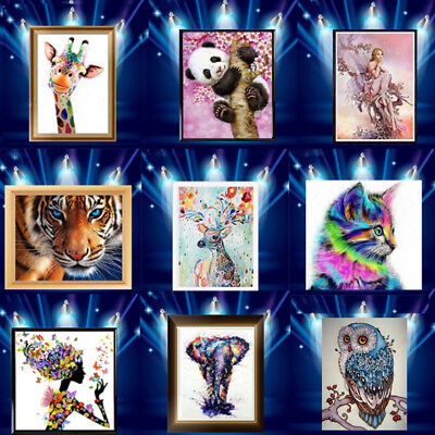 5D Diamond Painting Embroidery Cross Stitch Pictures Art Craft Mural Kit Decor W