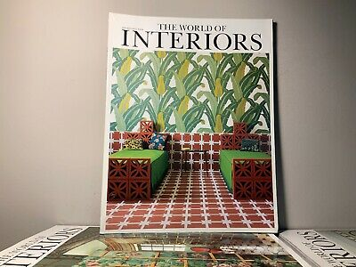 2007 Annual Collection of THE WORLD OF INTERIORS Magazine | 12 Issue Bundle |