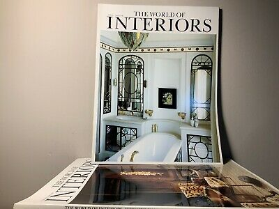 2006 Annual Collection of THE WORLD OF INTERIORS Magazine | 12 Issue Bundle |