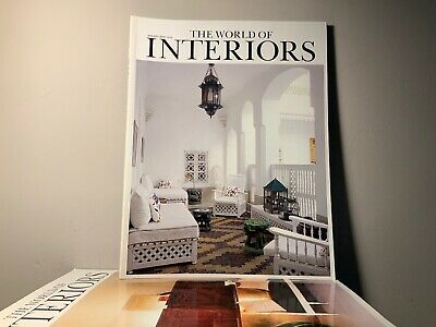 2008 Annual Collection of THE WORLD OF INTERIORS Magazine | 12 Issue Bundle |