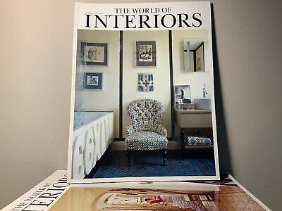 2011 Annual Collection of THE WORLD OF INTERIORS Magazine | 12 Issue Bundle |