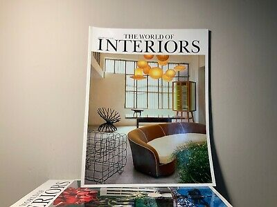 2013 Annual Collection of THE WORLD OF INTERIORS Magazine | 12 Issue Bundle |