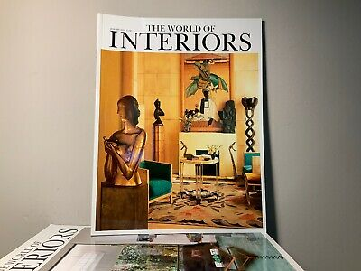 2014 Annual Collection of THE WORLD OF INTERIORS Magazine | 12 Issue Bundle |