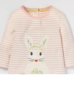 ex Mini Boden animal friends jersey top - various sizes