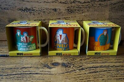 Only Fools And Horses Retro Mug Cup With 4 X Tea Bags New In Box Cushty