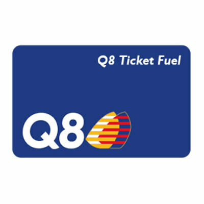 Ticket Fuel Q8 di 50 € a 46 € gift card coupon voucher buono elettronico