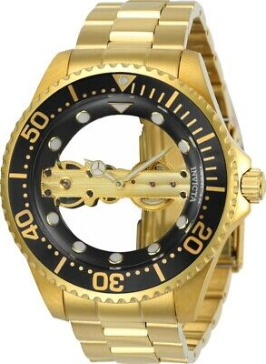 Invicta 24694 Men's Pro Diver 47mm Mechanical Black Dial Watch