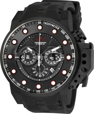 Invicta 25275 I-Force Men's 50mm Black Stainless Steel Black Dial Watch
